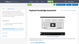 Keyboard Knowledge Assessment