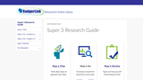 Super 3 Research Guide from BadgerLink