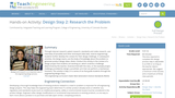 Design Step 2: Research the Problem