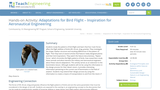 Adaptations for Bird Flight – Inspiration for Aeronautical Engineering