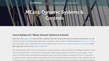 Dynamic Systems & Controls