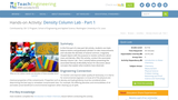 Density Column Lab - Part 1