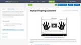 Keyboard Fingering Assessment