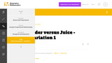 7.RP Cider versus Juice - Variation 1