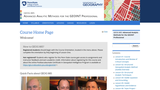Advanced Analytic Methods in Geospatial Intelligence
