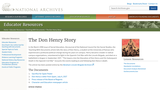 The Don Henry Story: The Documents