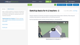 SketchUp Basics for K-12 teachers - 2