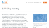 21st Century Skills Map - Project Management for Learning