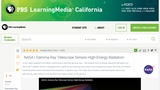 Gamma Ray Telescope Senses High-Energy Radiation