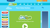 Place Value Hockey Game