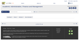 Academic Administration, Finance and Management