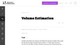 G-GMD Volume Estimation