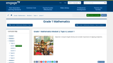 Grade 1 Mathematics Module 3, Topic A, Lesson 1