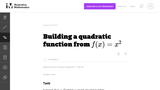 Building a Quadratic Function From F(X)=X2