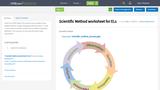 Scientific Method worksheet for ELs