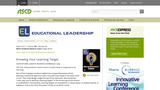 Knowing Your Learning Target