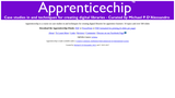 Apprenticechip - A course on case studies in and techniques for creating digital libraries for apprentice learners