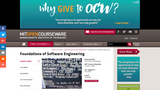 Foundations of Software Engineering, Fall 2000