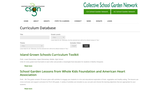 California School Garden Network Curriculum