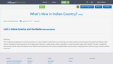 What's New in Indian Country?