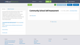 Community School Self-Assessment