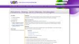 Allusions, Slang, and Literary Analogies