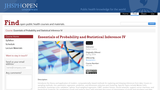 Essentials of Probability and Statistical Inference IV: Algorithmic and Nonparametric Approaches
