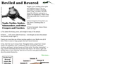 Reviled and Revered: Toads, Turtles, Snakes, Salamanders, and Other Creepers and Crawlers