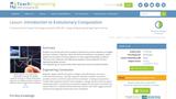 Introduction to Evolutionary Computation