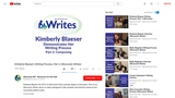 Kimberly Blaeser's Writing Process, Part 2 (Wisconsin Writes)