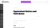 Equivalent Ratios and Unit Rates
