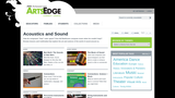 ArtsEdge Media Collection: Acoustics & Sound