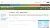 Teaching With Documents: Lesson Plans