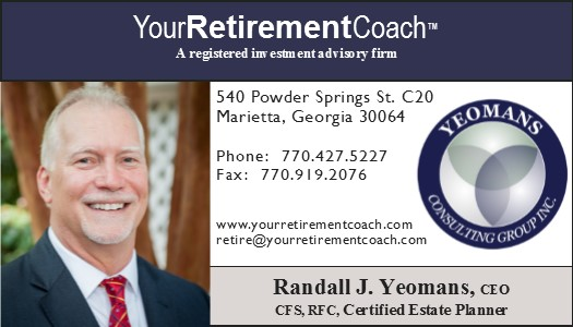 Randall Yeomans, financial advisor Marietta GA