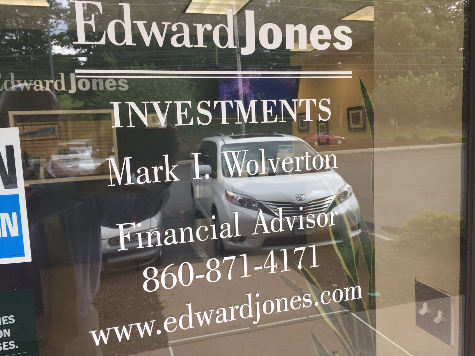 Mark Wolverton, financial advisor Broad Brook CT