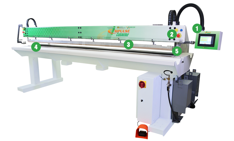 Impulse Extreme Welding Machine Features