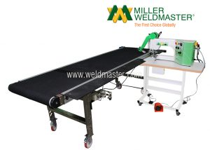 T3 Extreme Banner Welding Machine Conveyor Conveyor View 2