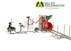 FX100 Spiral ducting welder machine ventilation hose