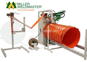 FX100 Spiral ducting welder machine