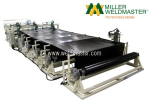 Moduline Geomembrane Multi-Roll Welding Machine Five Roll