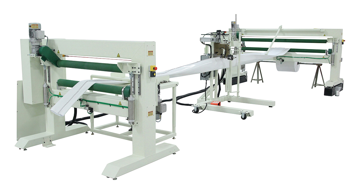 CIPP Double Tube Sewing Machine
