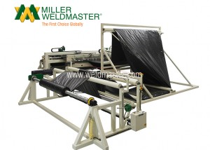 M100 Three Roll C-Fold System Welding