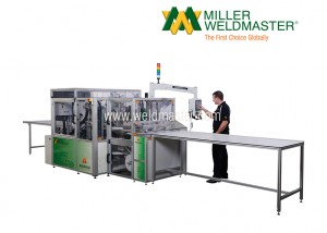 AES1900 Finishing Welder Machine in Use
