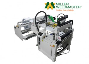 Back view of thermoplastic bag sealer machine