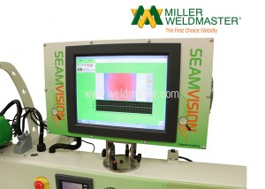 Seamvision Production Visual Welding Inspection System Screen View
