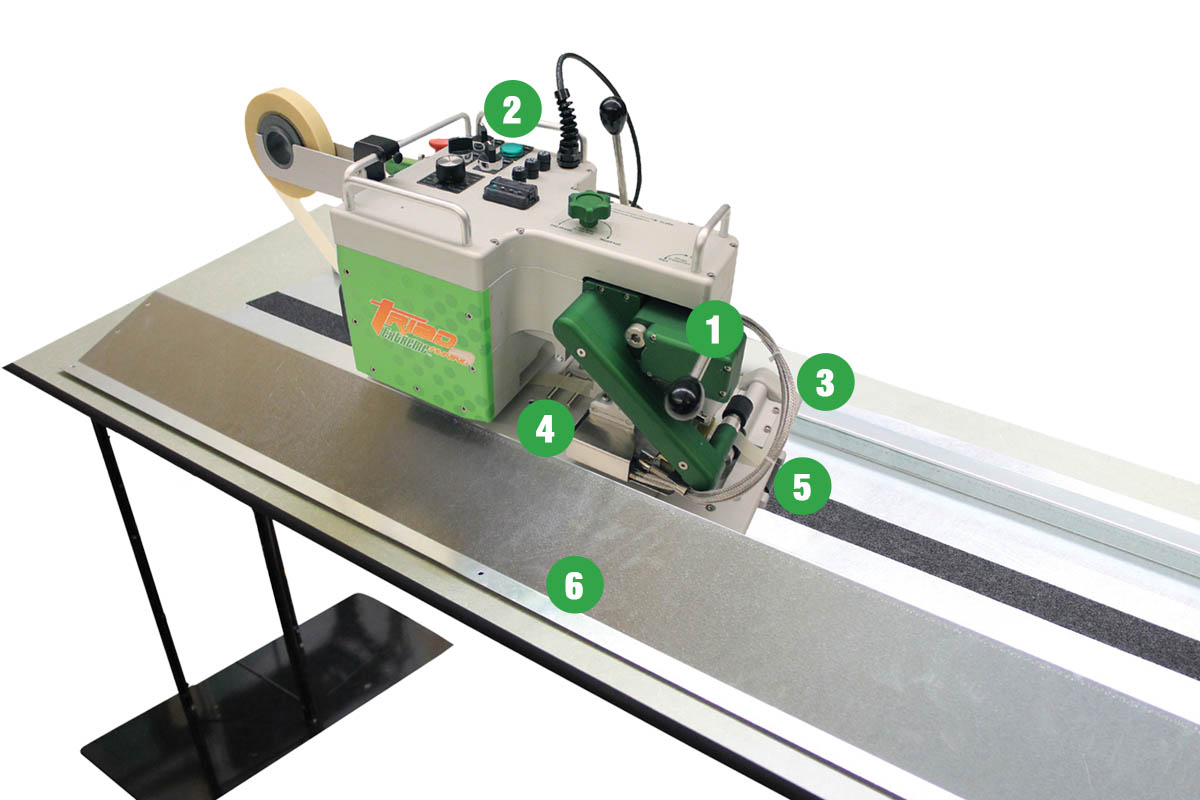 Triad Portable Welding Machine Features