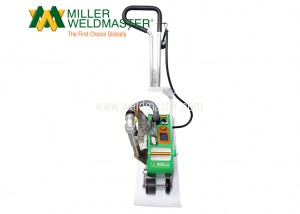 PVC membrane welder from front