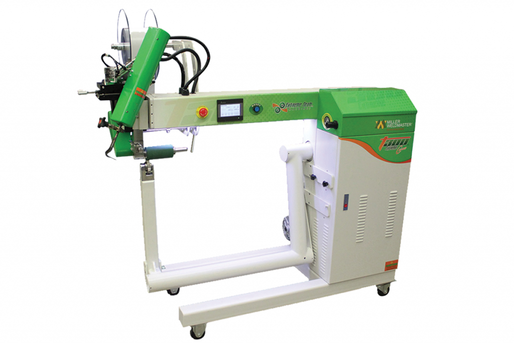 T300 Extreme Curve Double-Wall Welding Machine