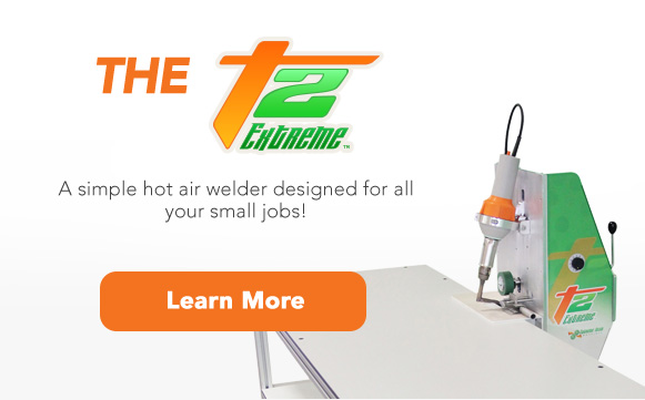 T2 Extreme Air Welder for small jobs. Learn more.