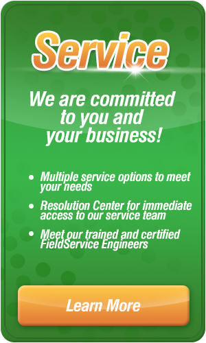 Service, we are committed to your business